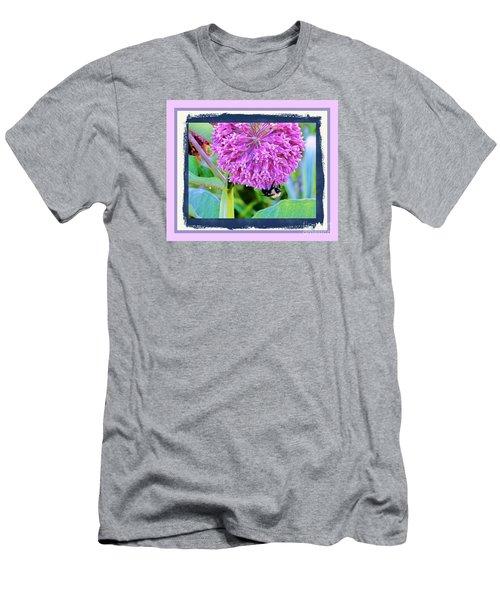 Bumble Bee Cliff Hanger Men's T-Shirt (Athletic Fit)