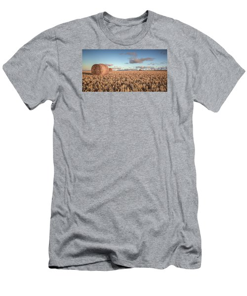Bundy Hay Bales #6 Men's T-Shirt (Athletic Fit)
