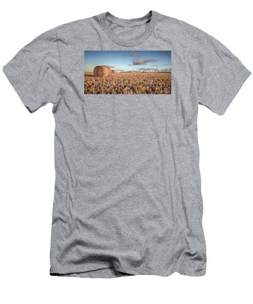 Bundy Hay Bales #6 Men's T-Shirt (Athletic Fit)