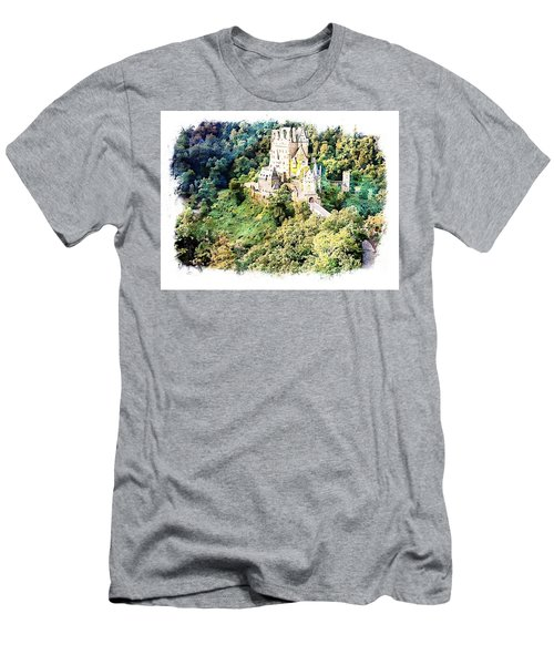 Men's T-Shirt (Slim Fit) featuring the photograph Burg Eltz - Moselle by Joseph Hendrix