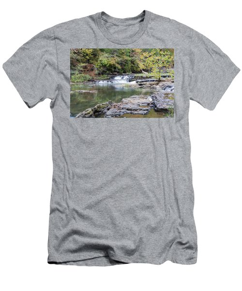 Burgess Falls Men's T-Shirt (Athletic Fit)