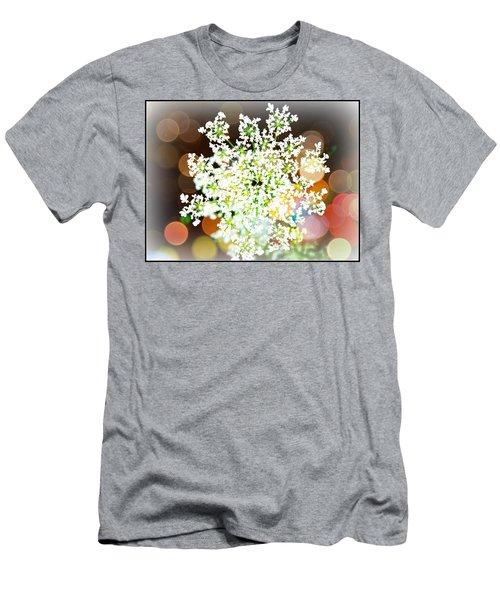 Burst Of Light Kaleidoscope Men's T-Shirt (Athletic Fit)