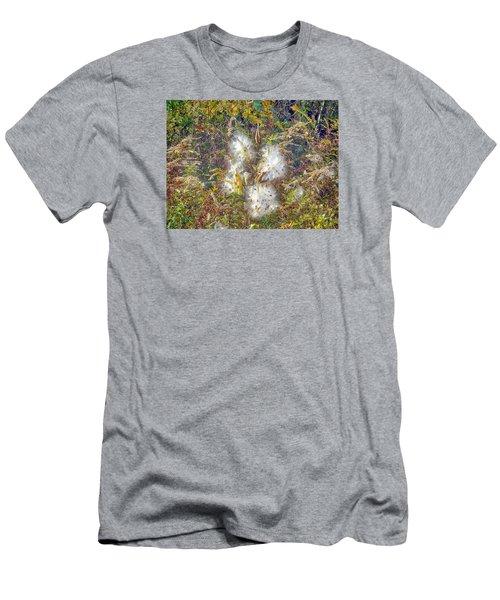 Bursting Milkweed Seed Pods Men's T-Shirt (Athletic Fit)