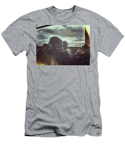 Bus Lady Men's T-Shirt (Athletic Fit)