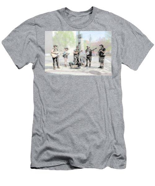 Busker Quintet Men's T-Shirt (Slim Fit) by John Haldane