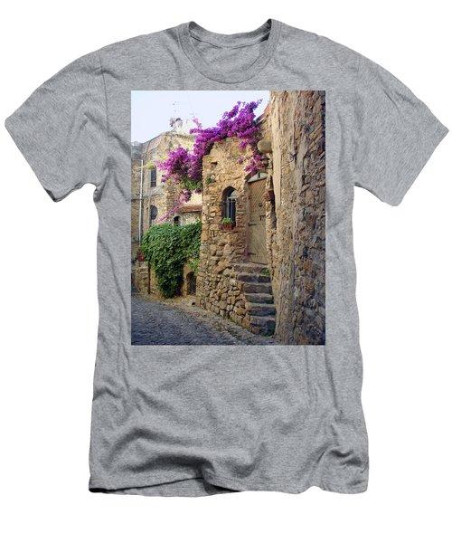 Bussana Vecchia Street Men's T-Shirt (Athletic Fit)