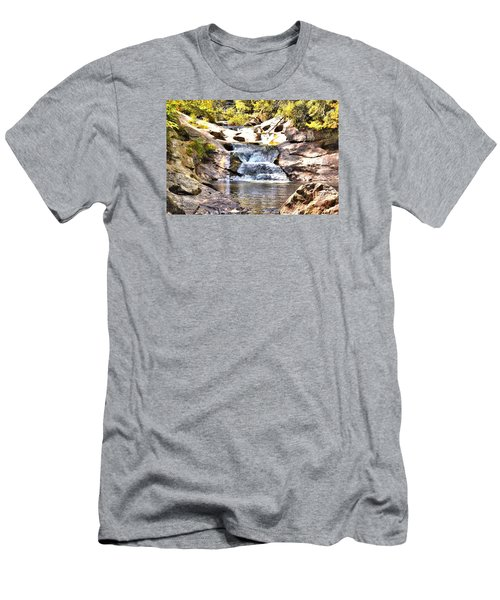 Bust Your Butt Falls Men's T-Shirt (Athletic Fit)