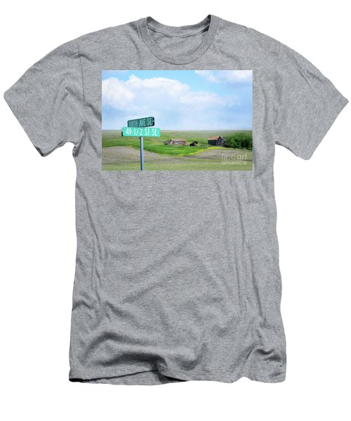 Busy Intersection Men's T-Shirt (Athletic Fit)