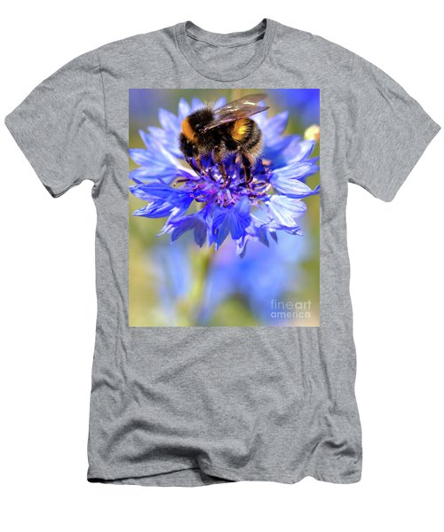 Busy Little Bee Men's T-Shirt (Athletic Fit)