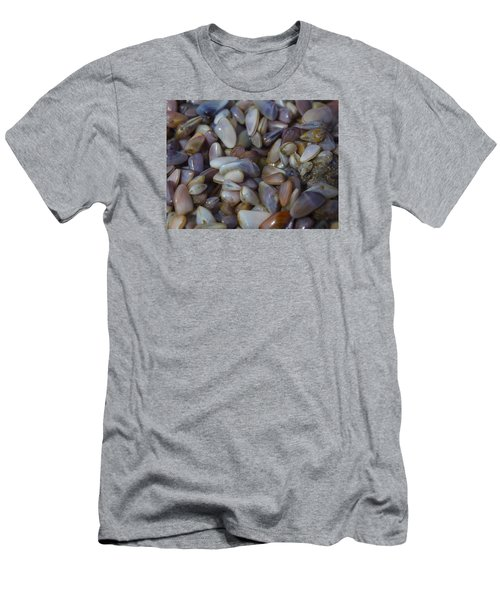 Buttefly Clam Rainbow Men's T-Shirt (Athletic Fit)