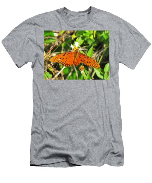 Butterfly At Canaveral National Seashore Men's T-Shirt (Athletic Fit)
