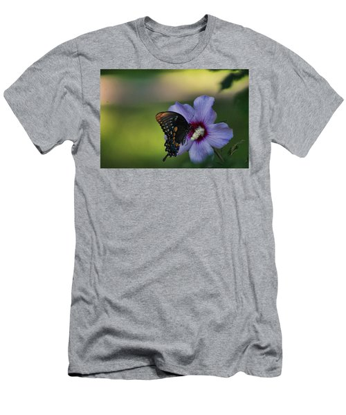 Butterfly Lunch Men's T-Shirt (Athletic Fit)