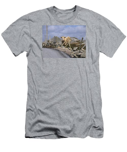 Men's T-Shirt (Slim Fit) featuring the photograph Butterscotch by Suzanne Oesterling