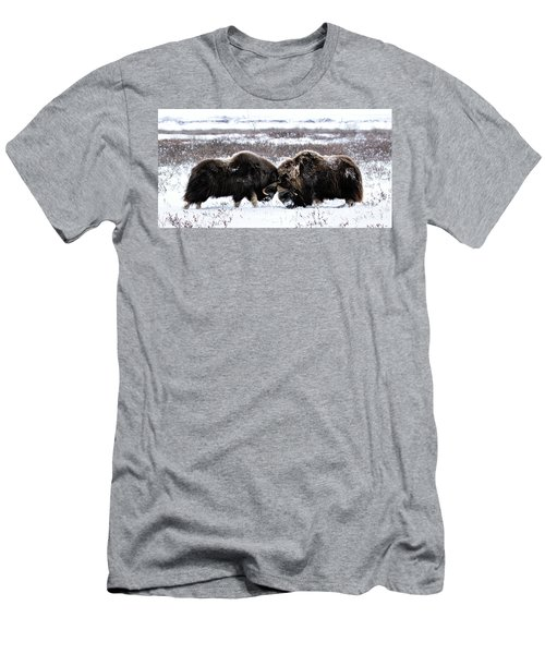 Butting Heads Men's T-Shirt (Athletic Fit)
