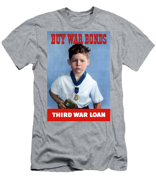 Buy War Bonds -- Third War Loan Men's T-Shirt (Athletic Fit)