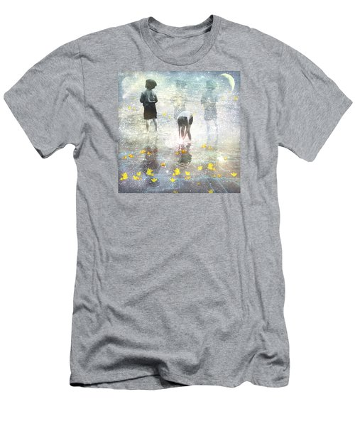 By The Light Of The Magical Moon Men's T-Shirt (Athletic Fit)