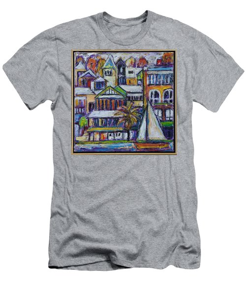 By The Water - Freo Men's T-Shirt (Athletic Fit)