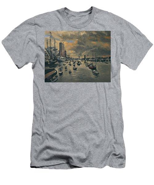 Bye Bye Sail Amsterdam Men's T-Shirt (Athletic Fit)