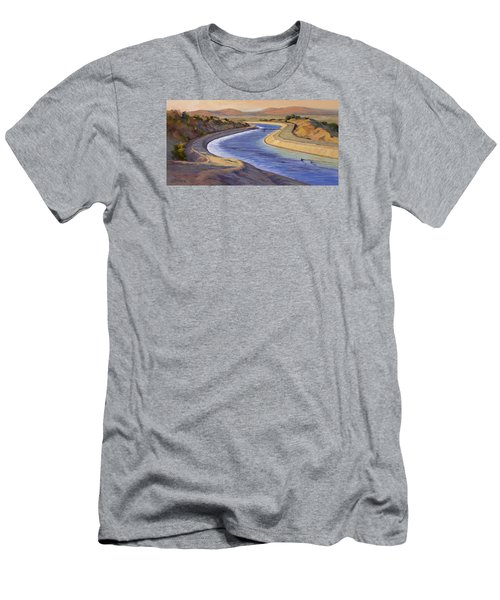 Ca Aqueduct 2 Men's T-Shirt (Athletic Fit)