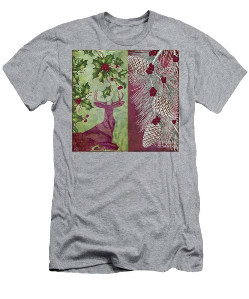 Cabin Christmas I Men's T-Shirt (Athletic Fit)