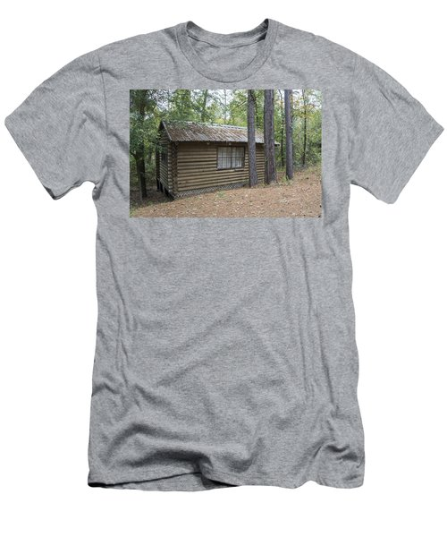 Cabin In The Woods Men's T-Shirt (Slim Fit) by Ricky Dean