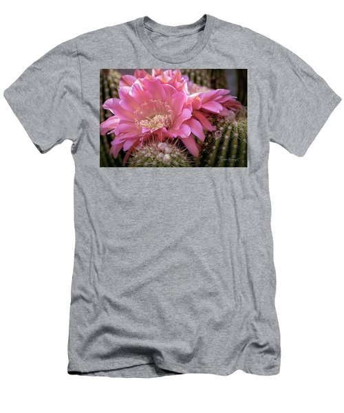 Cactus Bloom Men's T-Shirt (Athletic Fit)
