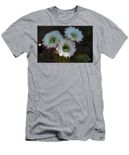 Cactus Flowers Men's T-Shirt (Athletic Fit)