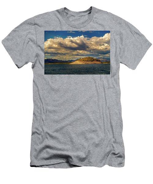 Cactus Island Men's T-Shirt (Athletic Fit)