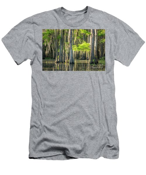 Caddo Swamp 1 Men's T-Shirt (Athletic Fit)