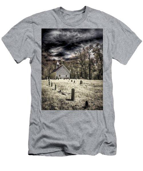 Cades Cove Church Men's T-Shirt (Athletic Fit)