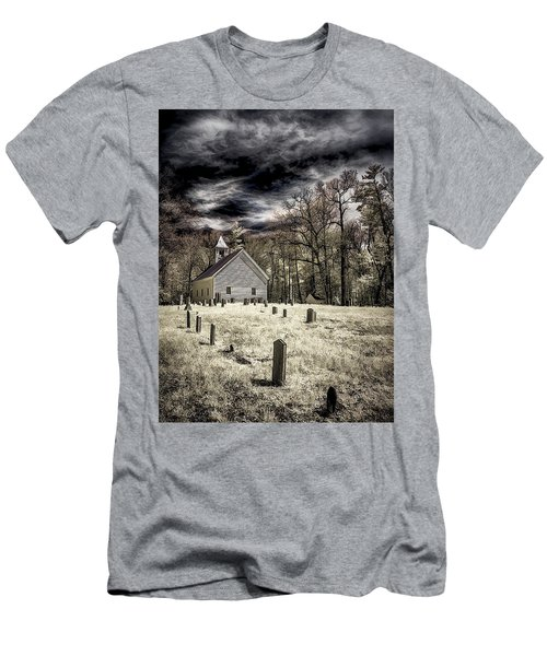 Cades Cove Church Men's T-Shirt (Athletic Fit)