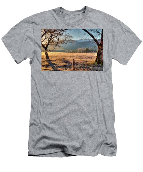 Men's T-Shirt (Slim Fit) featuring the photograph Cades Cove, Spring 2017 by Douglas Stucky