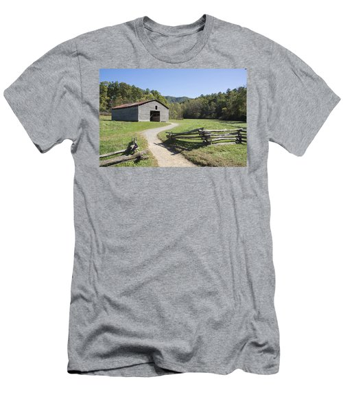 Cades Stables Men's T-Shirt (Slim Fit) by Ricky Dean