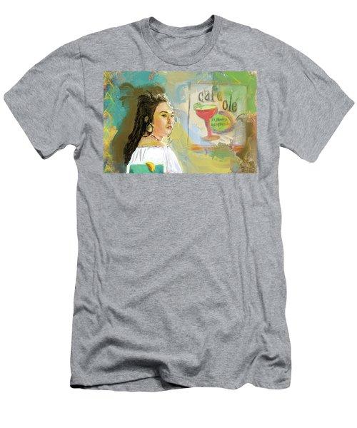 Cafe Ole Girl Men's T-Shirt (Athletic Fit)