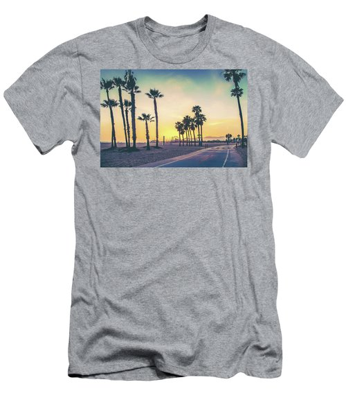 Cali Sunset Men's T-Shirt (Slim Fit) by Az Jackson