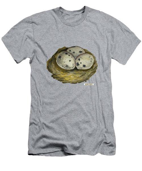 California Quail Eggs In Nest Men's T-Shirt (Athletic Fit)