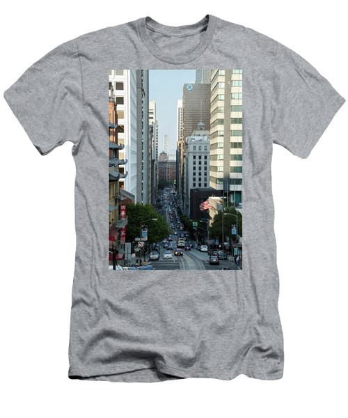 California Street San Francisco Men's T-Shirt (Athletic Fit)