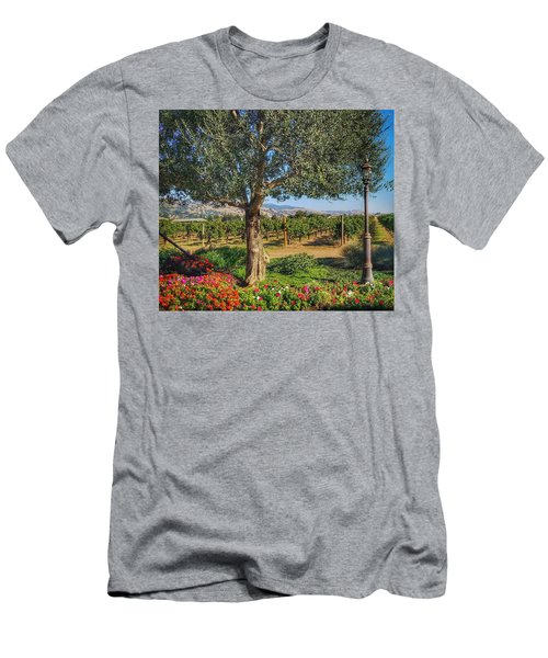 California Wine Country Men's T-Shirt (Athletic Fit)