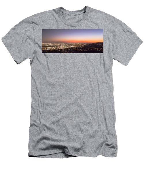 Californian Sunset Men's T-Shirt (Athletic Fit)