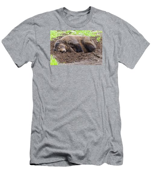 Call Later Men's T-Shirt (Athletic Fit)