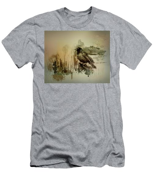 Call Of The Grackle Men's T-Shirt (Athletic Fit)