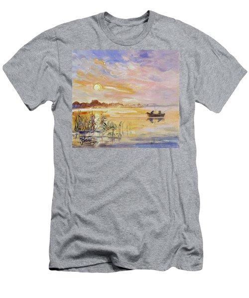 Calm Morning Men's T-Shirt (Slim Fit) by Irek Szelag