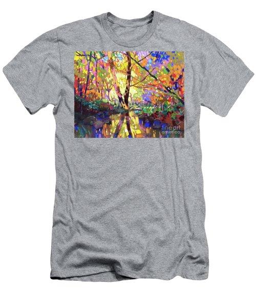 Calm Reflection Men's T-Shirt (Athletic Fit)