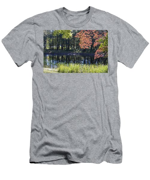 Calm Waters Men's T-Shirt (Slim Fit) by Ricky Dean