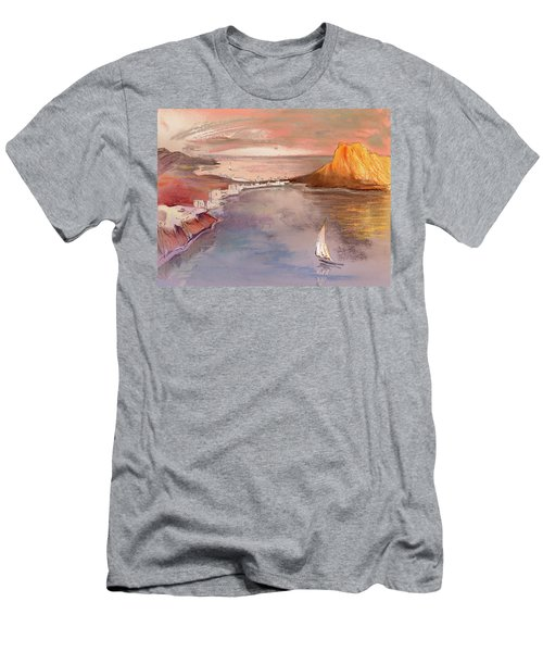 Calpe At Sunset Men's T-Shirt (Athletic Fit)