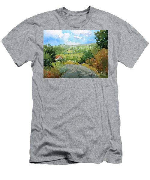 Cambria Countryside Men's T-Shirt (Athletic Fit)