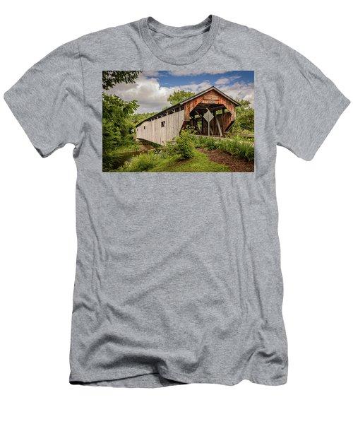 Cambridge Junction Bridge Men's T-Shirt (Athletic Fit)