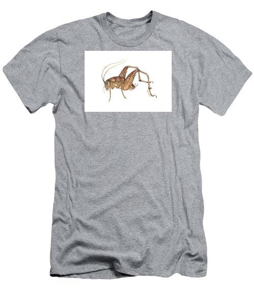 Camel Cricket Men's T-Shirt (Slim Fit) by Cindy Hitchcock