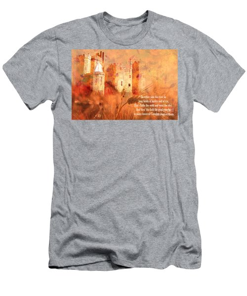 Men's T-Shirt (Athletic Fit) featuring the digital art Camelot 2017 by Kathryn Strick