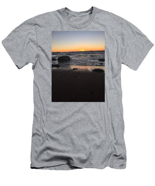 Camp In The Fall Men's T-Shirt (Athletic Fit)